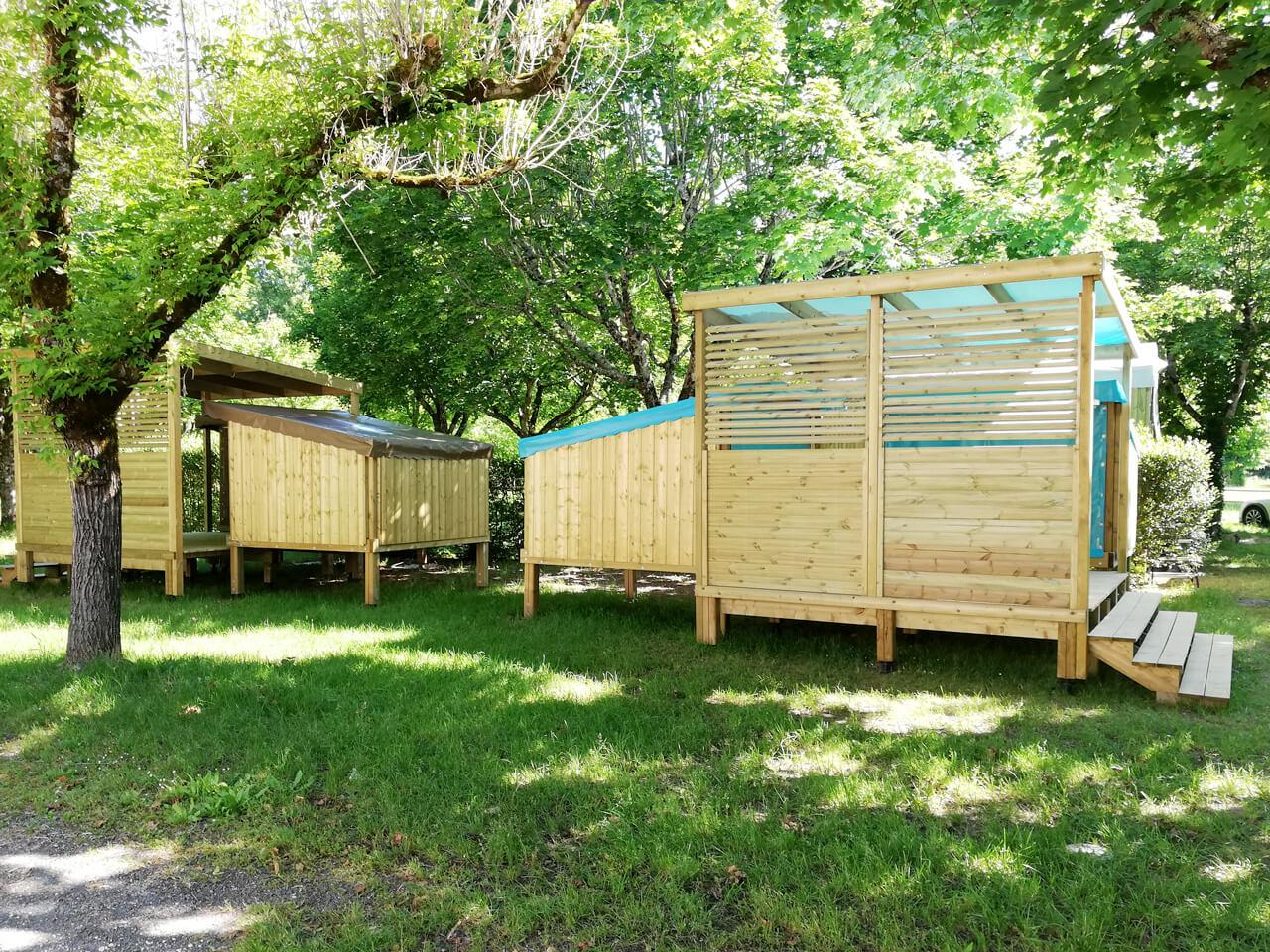 Cop Camp un hébergement en bois pour des espaces ludiques