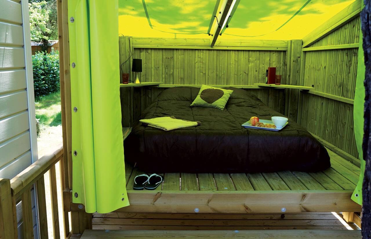Nuit insolite en hébergement en bois cop Camp