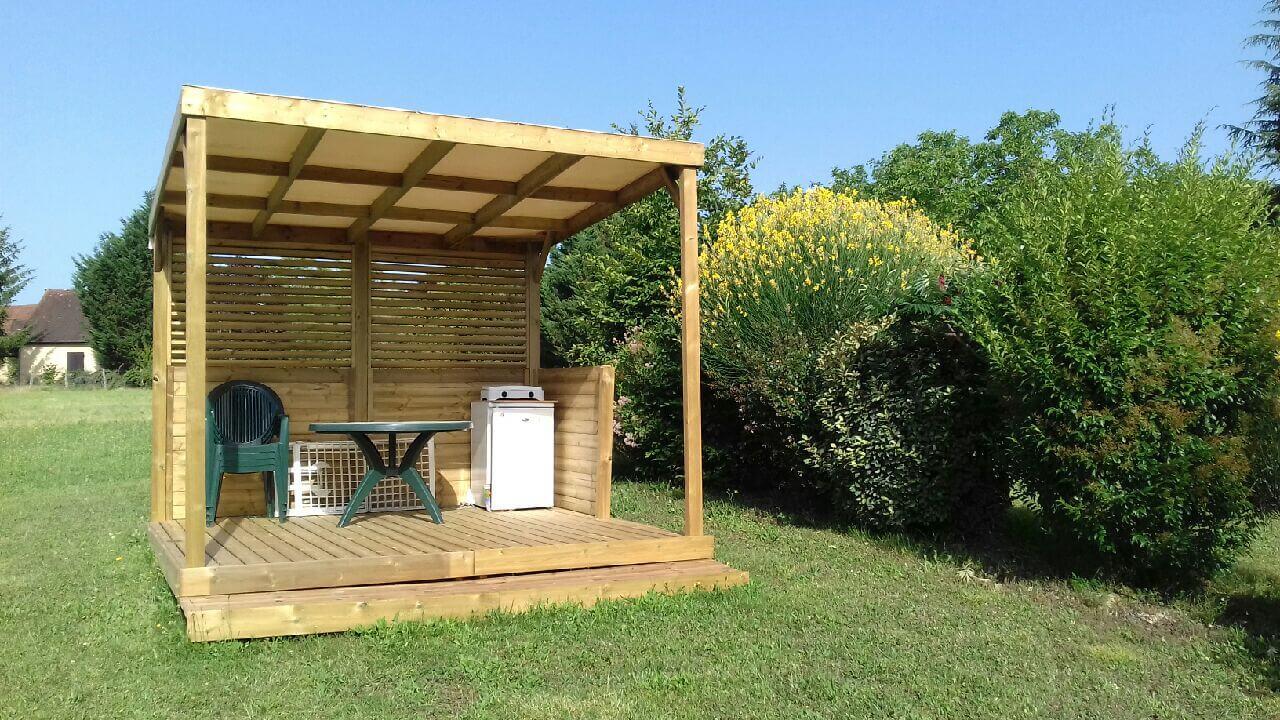 Modulo camp pour vos terrasses en bois