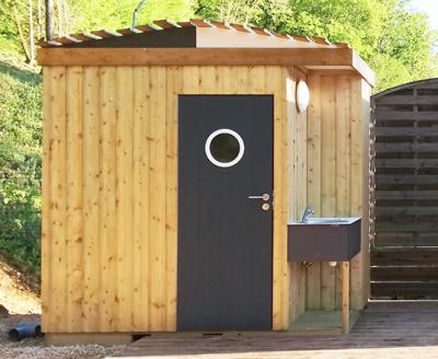 Le sanilys un sanitaire en bois