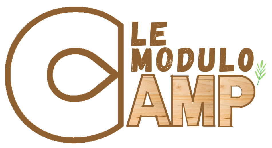 Hébergement en bois Modulo Camp'