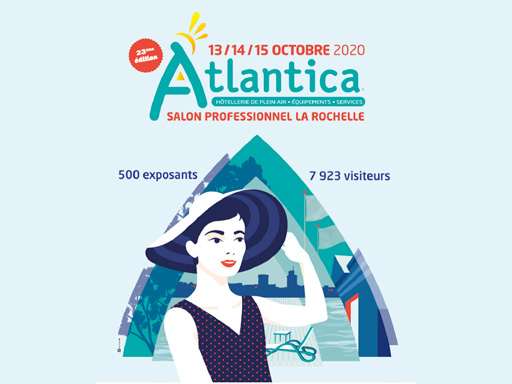 Logo du salon Atlantica 2020